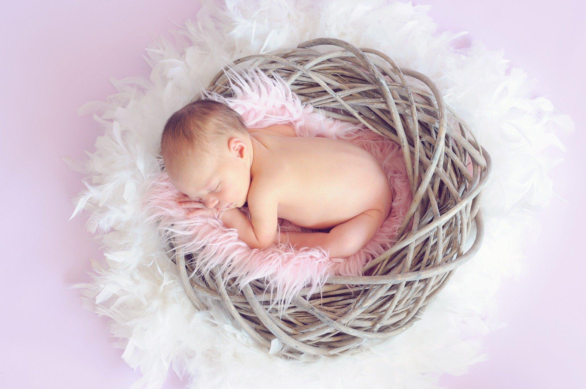 Séance photo pour une naissance