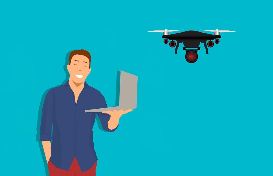 La photographie au moyen des drones, de perspectives meilleures